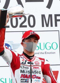 2020年全日本ロードレース選手権第1戦スポーツランドSUGO